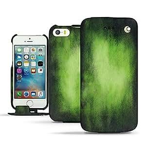 Funda de piel Apple iPhone SE - Patine - Vert Patine