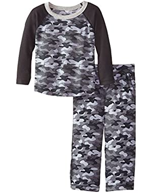 Gerber Graduates Baby and Little Boys' Long Sleeve Top and Pant Set