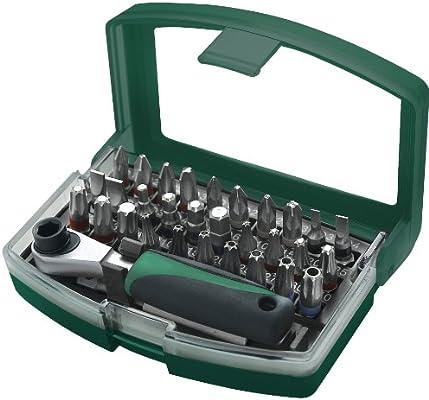 Mannesmann - M29705 - Juego de puntas de destornillador 32 piezas: Amazon.es: Bricolaje y herramientas