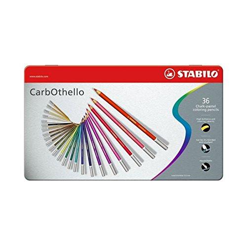 Carb-Othello Pastel Pencil 36 Color Set