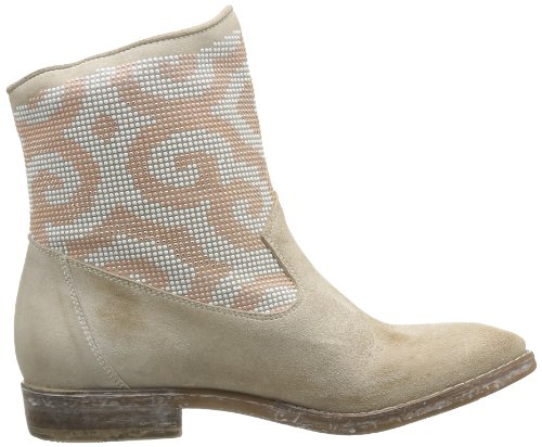 Femme Velour Borchie Oro Now Boots Guetta rosa phard Beige wFBCBExSq