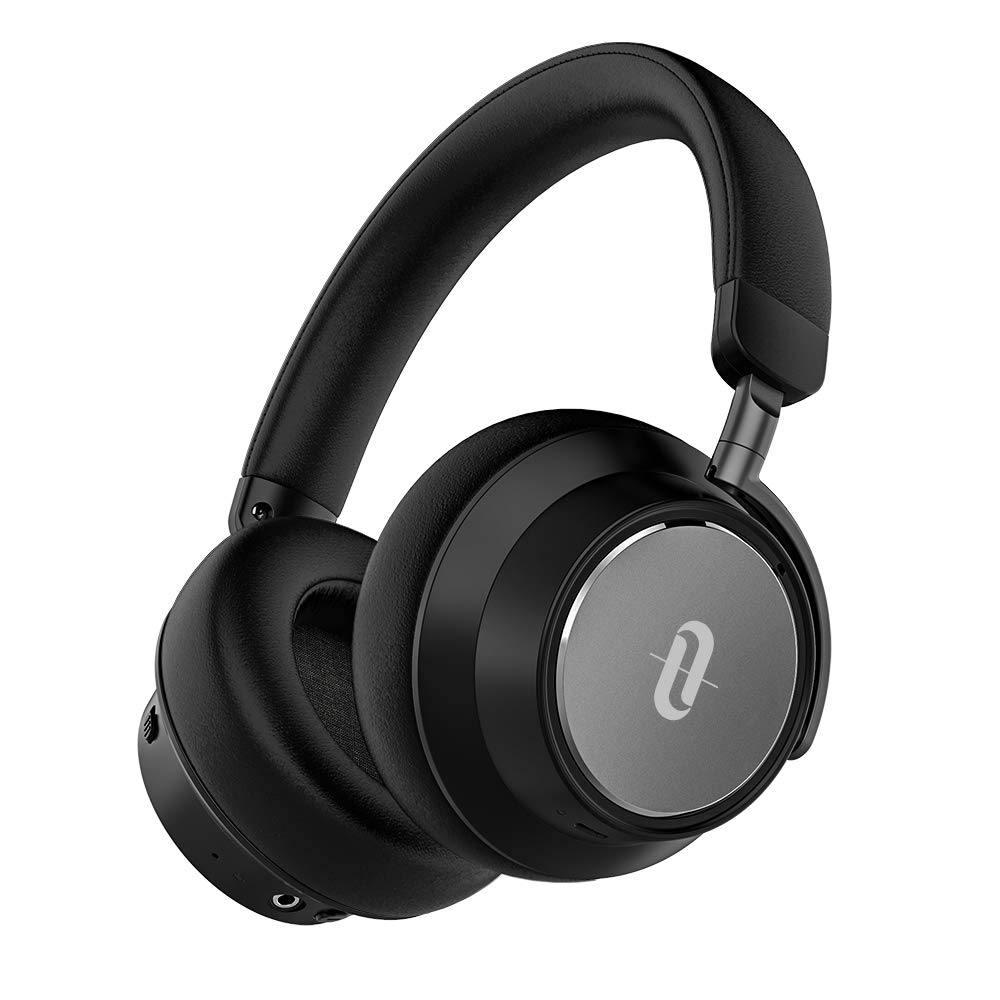 TaoTronics Active Noise Cancelling Headphones Bluetooth Headphones SoundSurge 46 Over Ear Headphones Headset with Deep Bass, Fast Charge 30 Hour Playtime for Travel Work TV PC