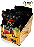 Organic Sun Dried Mangos - 3.5oz (Pack of 6) - Kosher and Non-GMO