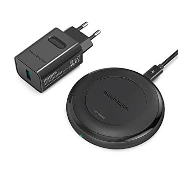 Cargador Inalámbrico Rápido de RAVPower Compatible con ...