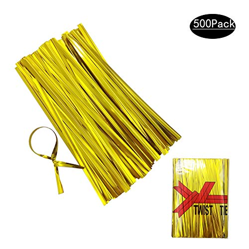 Y-Lenarz Metallic Twist Ties 4