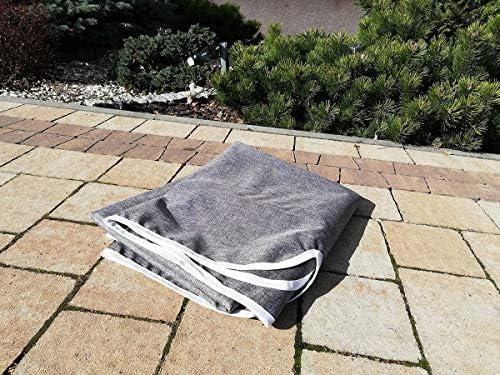 Ferocity Universal Techo Solar para balancín Toldo Fundas para balancines Toldo de Repuesto para Columpio de jardín tamaño 110 x 188 cm Lino [101]: Amazon.es: Jardín