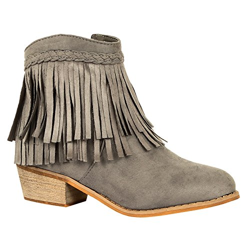 Cowboy Western Womens Ankle Boot - 1