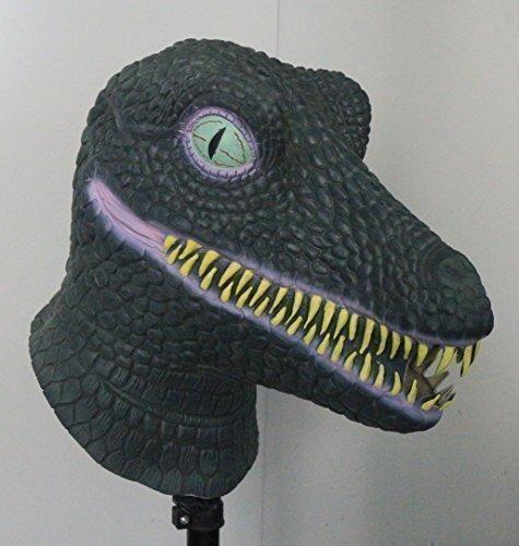 The Rubber Plantation TM 619219291415 Tyrannosaurus Dinosaur - Máscara de látex para disfraz de Halloween, unisex, talla única: Amazon.es: Juguetes y juegos