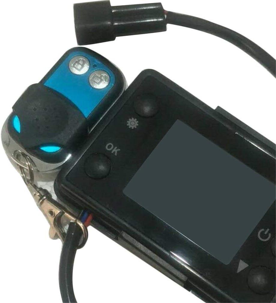 5KW Controlador de calentador de estacionamiento con interruptor LCD para calentador de aire de pista de autom/óvil negro 24V 3 12V