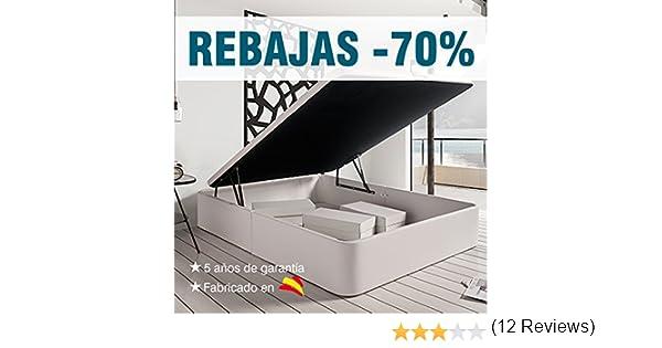 Zeng Canapé de Polipiel Abatible de Gran Capacidad. Color Blanco (135_x_180): Amazon.es: Hogar