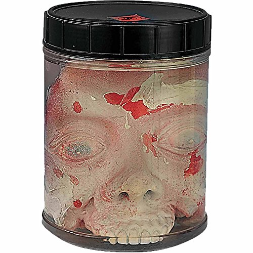 Head in Jar Halloween Decoration - Halloween Jar