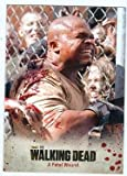 The Walking Dead trading card 2014 #25 Season 3 T Dog Bitten IronE Singleton