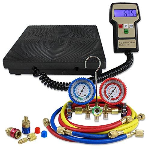 F2C Digital Refrigerant Electronic Charging Scale HVAC AC...