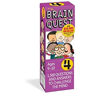 TMG Brain Quest Educational Question Answer Game - Choose Grade Level! (4TH Grade): Toys & Games