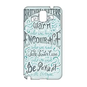 Bible Verse 3D Phone Case for Samsung note3