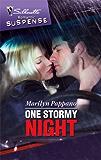 One Stormy Night (Silhouette Romantic Suspense)