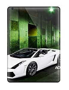 Snap-on Case Designed For Ipad Air- Ad18 Lamborghini Gallardo