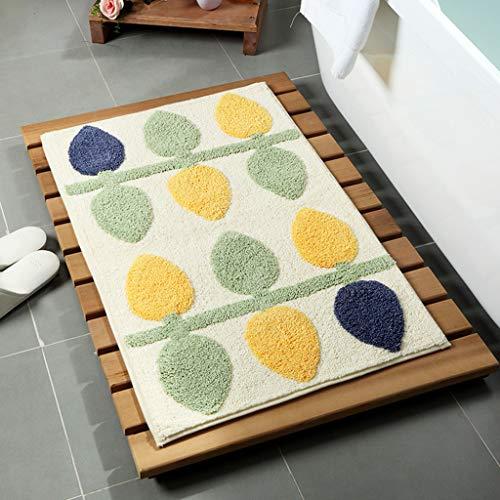 - Kangma Super Absorbent Bath Rugs Thick Anti-Slip Carpet Kitchen Dining Room Bathroom Home Carpet Floor Doorway Pad 4565cm