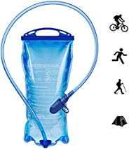 Hydration Bladder,Water Bladder BPA Free, 7Inch Large Opening Water Reservoir, Leak Proof Military Water Stora