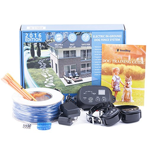 In-Ground Dog Fence System by Good Boy Electric Underground Perimeter Fence For Containment Of Stubborn Pets