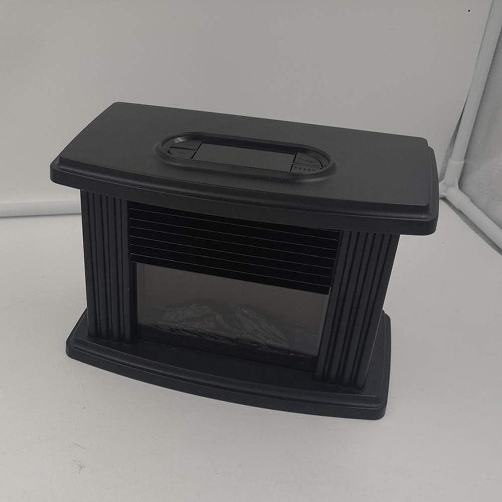 JX Estufa eléctrica Ventilador Calentador Chimenea eléctrica ...