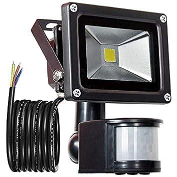 150W PIR Sensor de movimiento LED Luz de inundación, Exterior IP65 Impermeable Sensor de movimiento