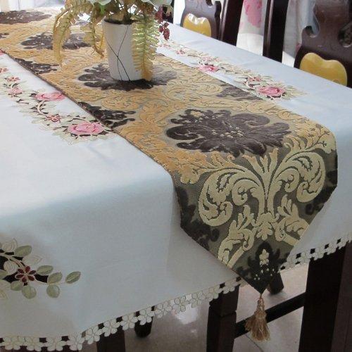 Diaidi Classic Auspicious Flower Table Runner Boutique