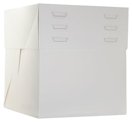 DeColorDulce SG2225 Caja con Tapa separada, cartón, Blanco ...