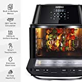 OMMO Air Fryer Oven,17Qt Air Fryer Toaster