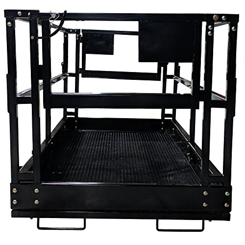 Titan 4'x8' Telehandler Work Platform Man Basket by Titan Attachments (Image #3)