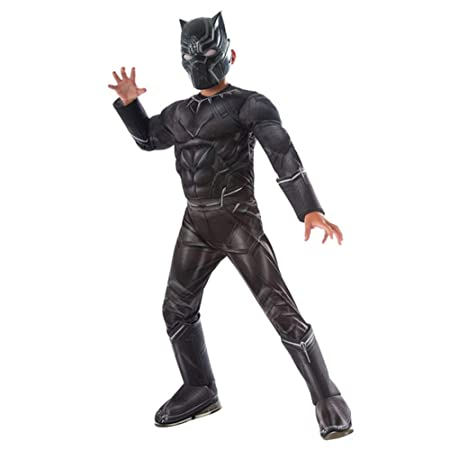 Hope Black Panther Deluxe Cosplay Costume Kids Chicos Mono Anime ...