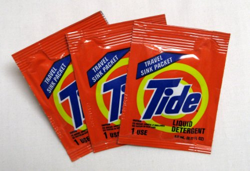 Tide Travel Sink Packets, 3-Count