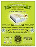 2 Twin Size Mattress Bags. Fits All Pillow Tops and Box Springs. Ideal for Moving, Storage and Protecting Your Mattress. Heavy Duty Professional Grade. Easy to Slip on and Seal. Sleep with Peace of Mind and Don't Let the Bed Bugs Bite. Protect Your Investment with Our American Made, World Famous, 5 Star Rated, Eco Friendly Mattress Protection.