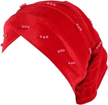 Women/'s Muslim Hair Loss Head Scarf Hat Chemo Hijab Cap Turban Head Wrap Cover
