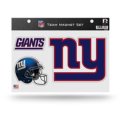 - Rico NFL New York Giants NFL Team Magnet Sheet, Blue, 11