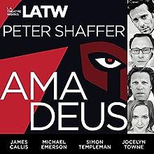 Amadeus Performance by Peter Shaffer Narrated by Darren Richardson, Mark Jude Sullivan, James Callis, Michael Emerson, Alan Shearman, Steven Brand