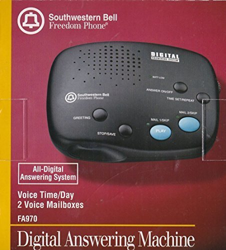 Southwestern Bell FA-970 Digital Answering System with 2 ...