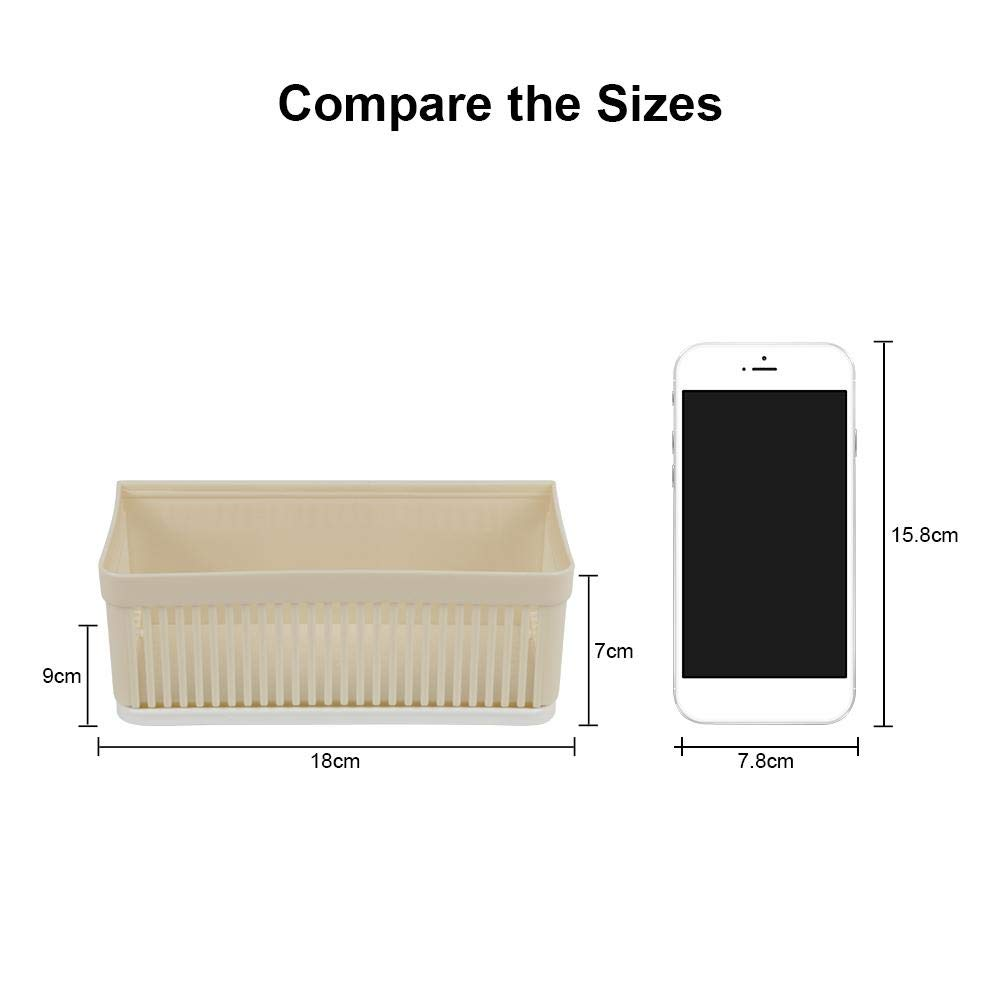 VT BigHome Plastic Storage Holder Rack Self Adhesive Kitchen Bathroom Soap Sponge Holder Spice Seasoning Sundries Cosmetic Organizer