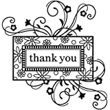 Inka Dinkado Thank You Frame Clear Stamp