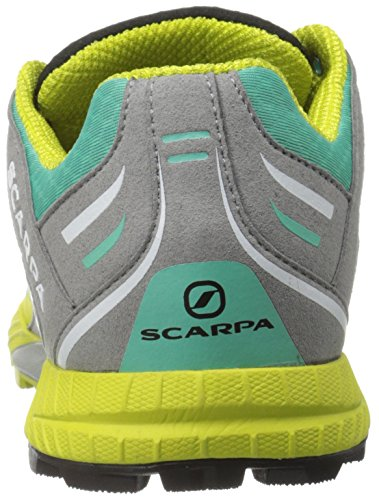 Scarpa Womens Atom Wmn Trail Loopschoen Trail Runner Lagune / Limoen