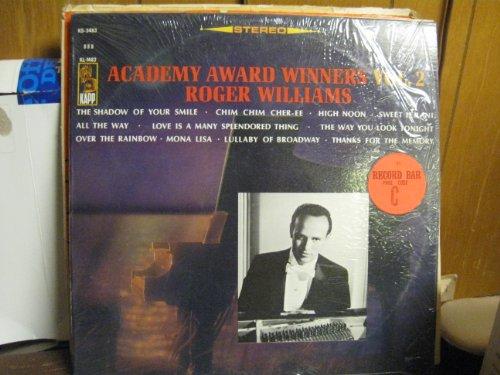 Academy Award Winners Vol.2/ Roger Williams [Vinyl Lp Record] (Oldies 8 Tracks Christmas)