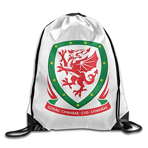 YesYouGO 2016 French European Cup Welsh Champion Team Unisex Drawstring Backpacks/Bags