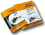 Two John Deere 14T Baler Operators And Parts Manuals Owners Knotter Catalog Jd