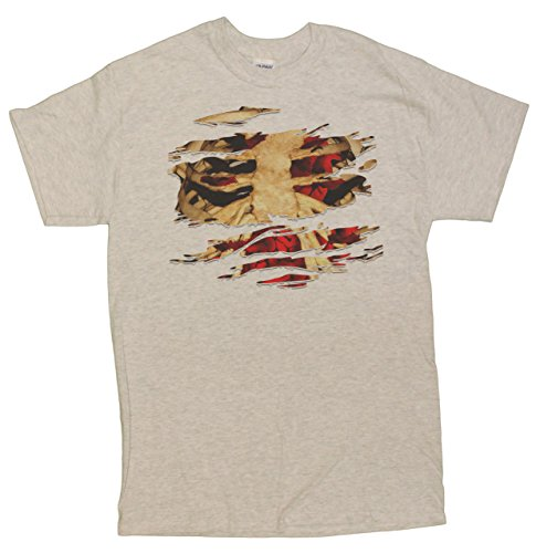Men's (Ripped Shirt Zombie Costume)