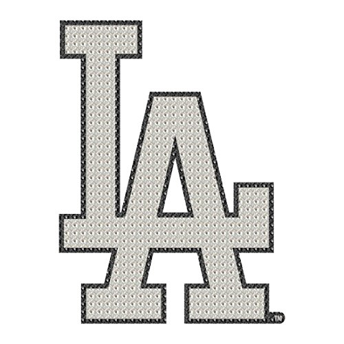 Los Angeles Dodgers MLB Team Logo Car Truck SUV Motorcycle Trunk 3D Bling Gem Crystals Chrome Emblem Adhesive Decal