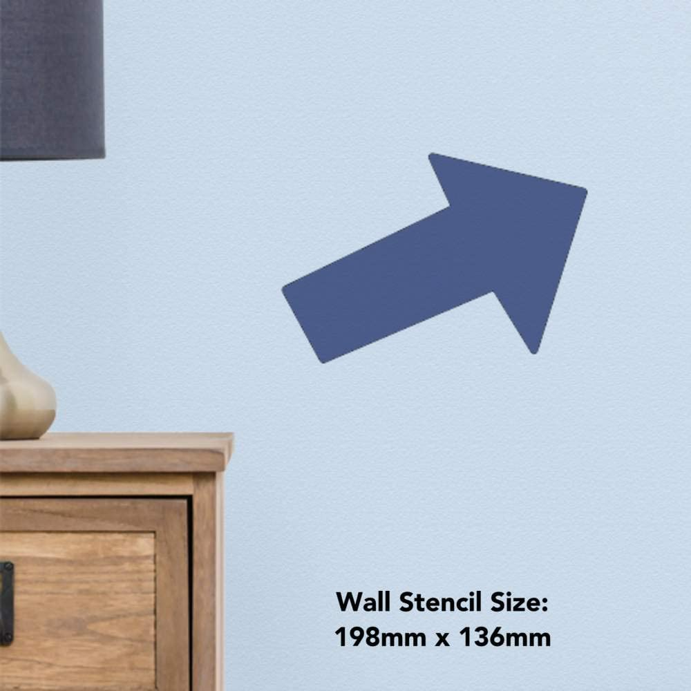 WS00019153 Template Large A2 Arrow Wall Stencil