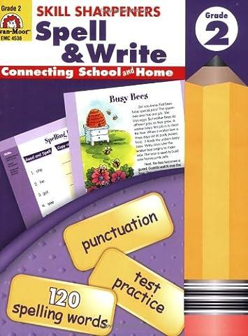 Skill Sharpeners Spell & Write, Grade 2 (Language Of Spells)