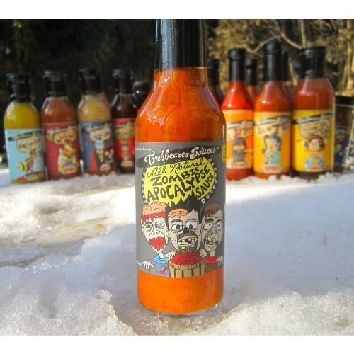 Hot Zombies (Zombie Apocalypse Ghost Chili Hot Sauce)