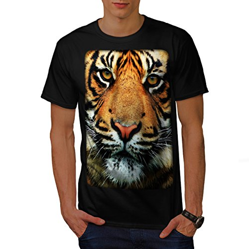Tiger Face Nature Animal Wild Life Men S