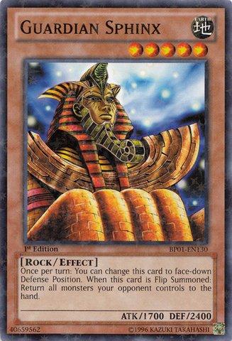 - Yu-Gi-Oh! - Guardian Sphinx (BP01-EN130) - Battle Pack: Epic Dawn - 1st Edition - Starfoil Rare